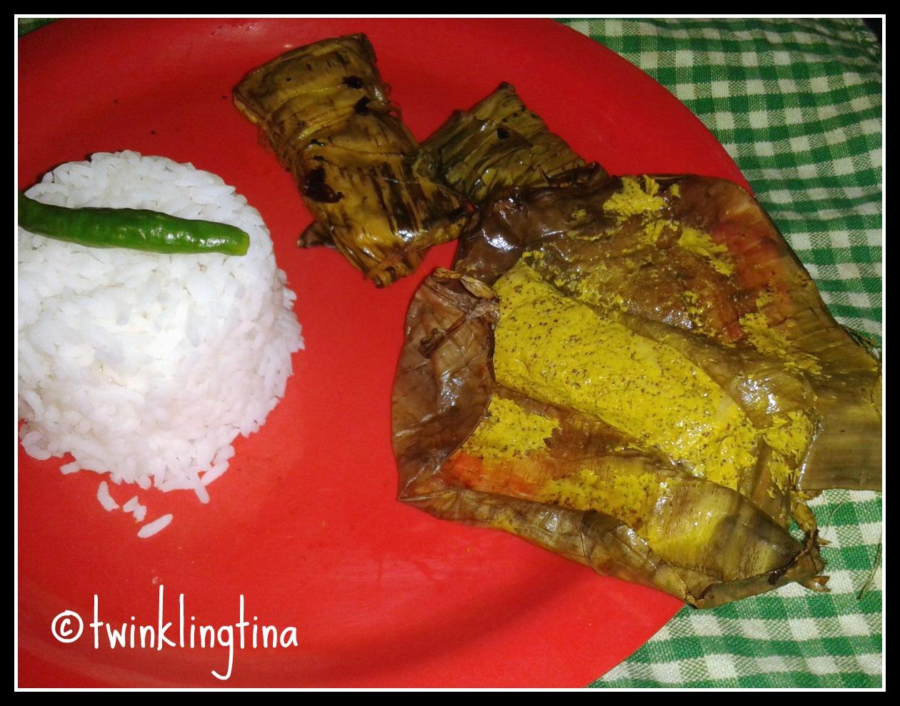bhetki paturi, steamed fish in mustard sauce, bengali paturi recipe
