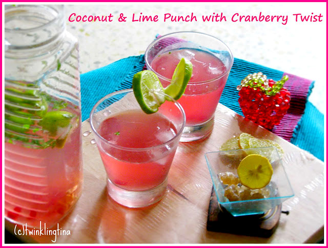 coconut lime punch