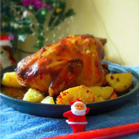 Winter Roast Chicken