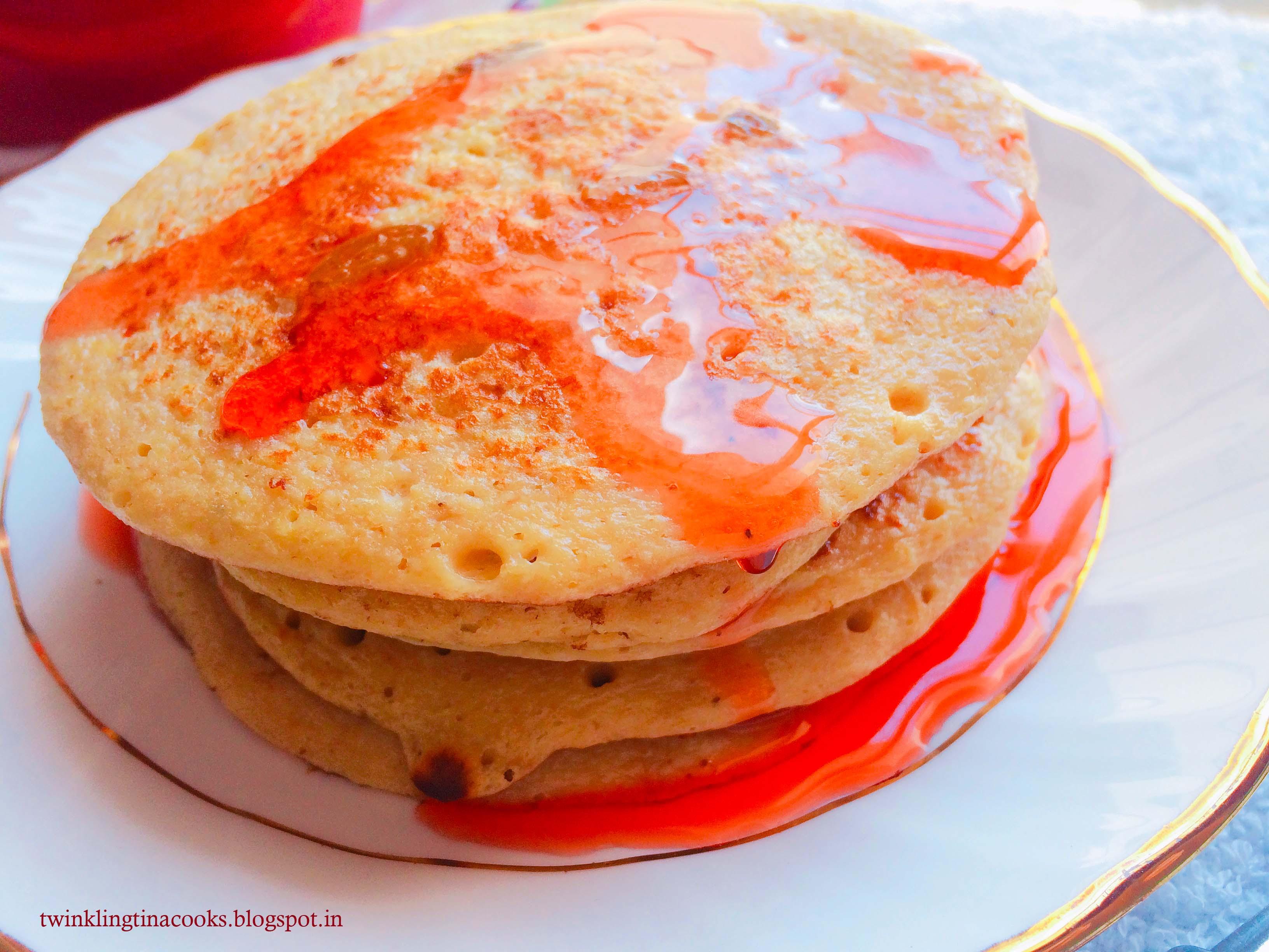 Yogurt and Oats Pancakes, oats pancake, gluten free pancake recipe