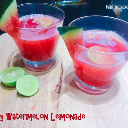 Zingy Watermelon Lemonade
