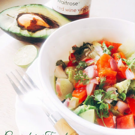 Cucumber, Tomato & Avocado Salad