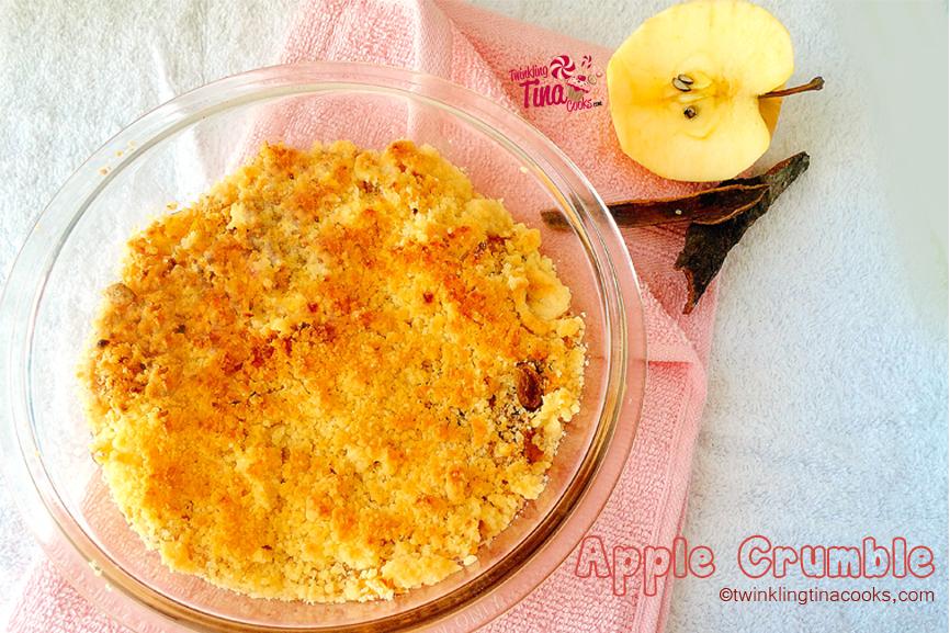 apple crumble, apple crumble recipe, classic apple crumble recipe, dessert recipe, fruit recipe, apple recipe, english apple crumble