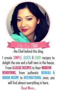 Tina Basu, About Tina Basu, Food Blogger, Indian food blogger, twinklingtinacooks