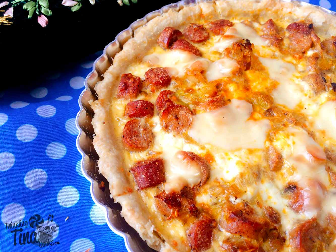 leek-and-sausage-quiche-recipe-french-quiche-recipe-how-to-make-quiche-quiche-recipe