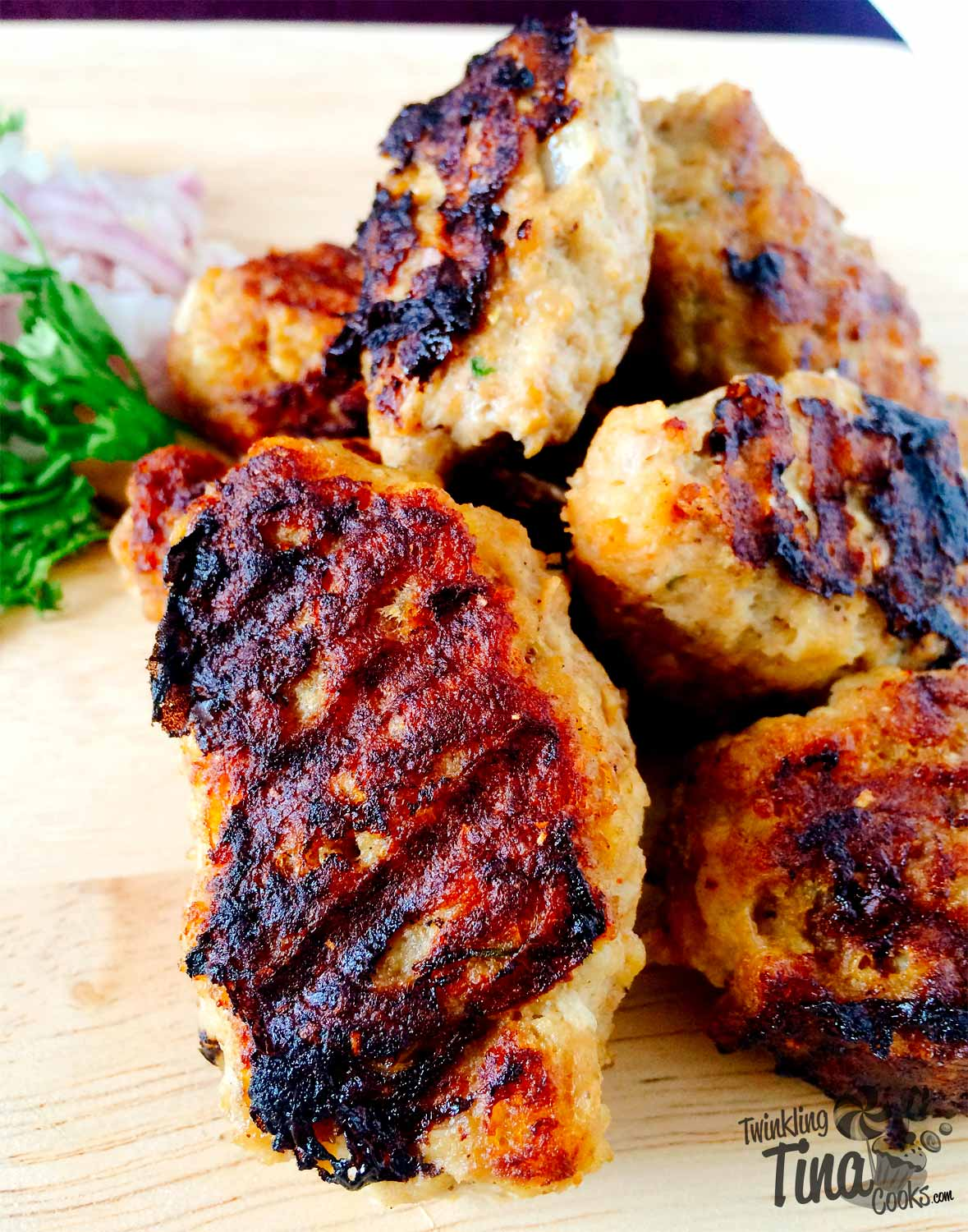 chicken kofta, chicken kebab, recipe, Lebanese chicken kofta recipe, chicken kofta recipe, easy chicken kebab recipe, non veg recipe, grilled kebab recipe