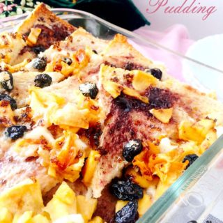 Fruity Bread and Butter Pudding