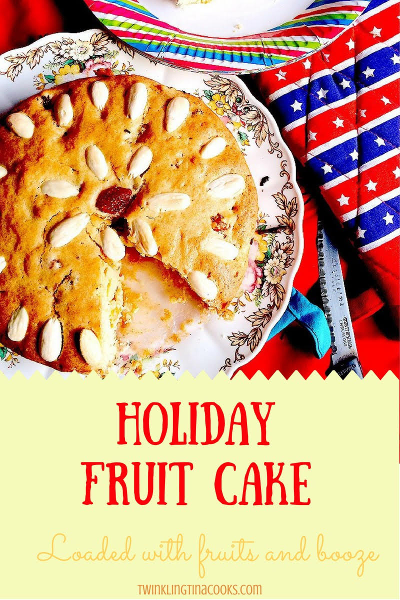 Easy Christmas Fruit Cake Recipe With Brandy