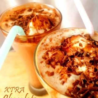 Xtra Chocolate Ice-cream Float #AtoZChallenge