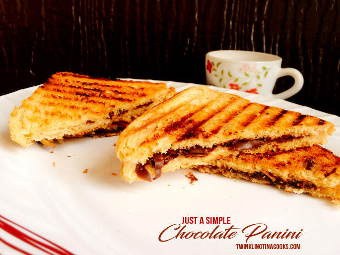 Chocolate Panini Dessert Recipe