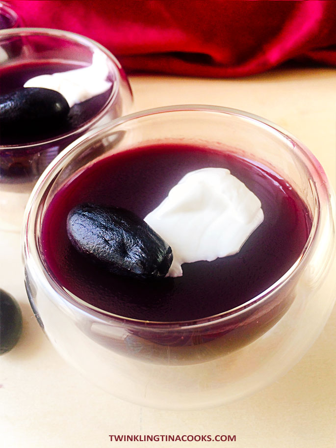 grape-pudding