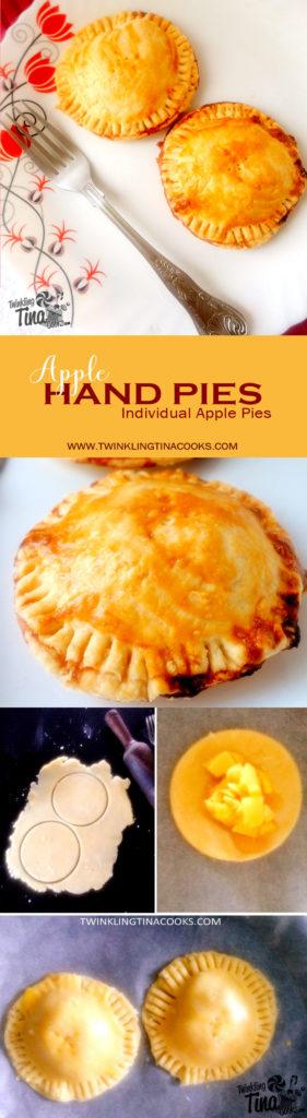 how-to-make-apple-hand-pie-dessert-recipe-baking-recipe-pinterest