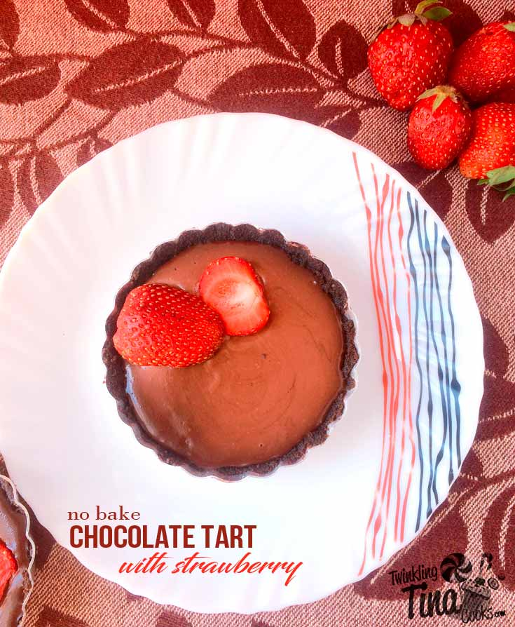 no-bake-chocolate-tart-recipe-with-strawberry