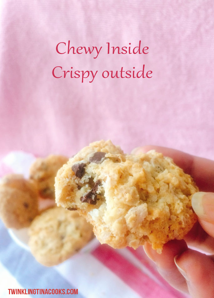 oat-meal-chocolate-chip-eggless-cookie-recipe-chewy-crispy