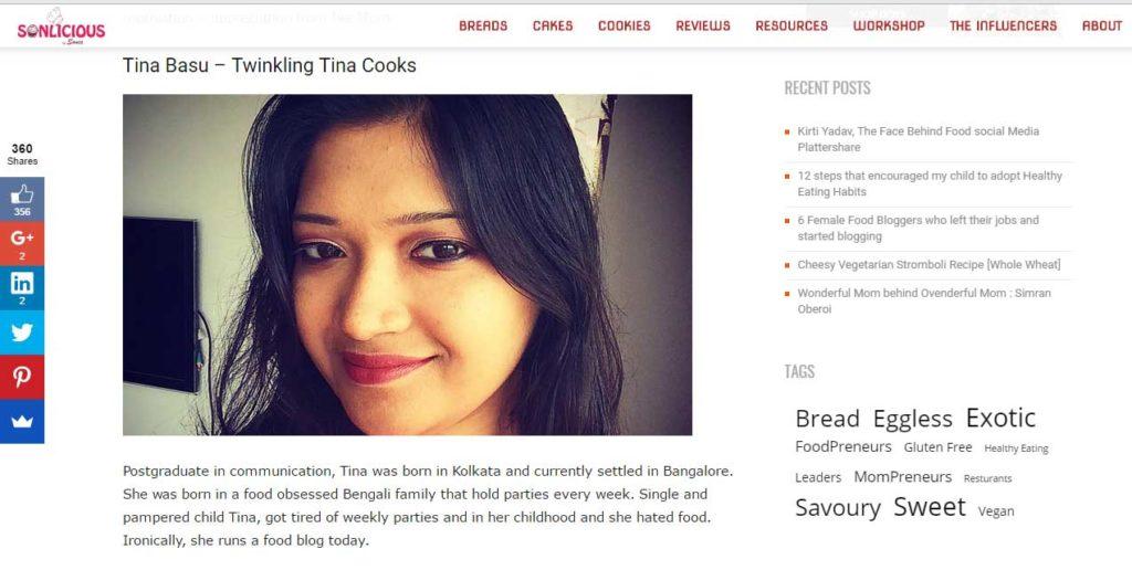 twinkling tina cooks