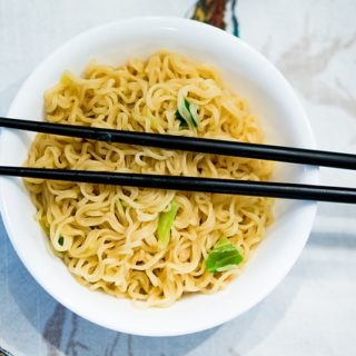Chinese Noodles Recipe in Electric Rice Cooker