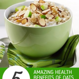 5 Amazing Health Benefits of Oats + Healthy Oats Recipes