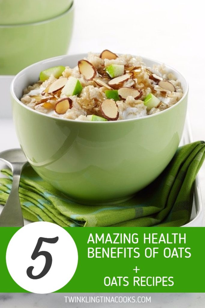 health benefits of oats