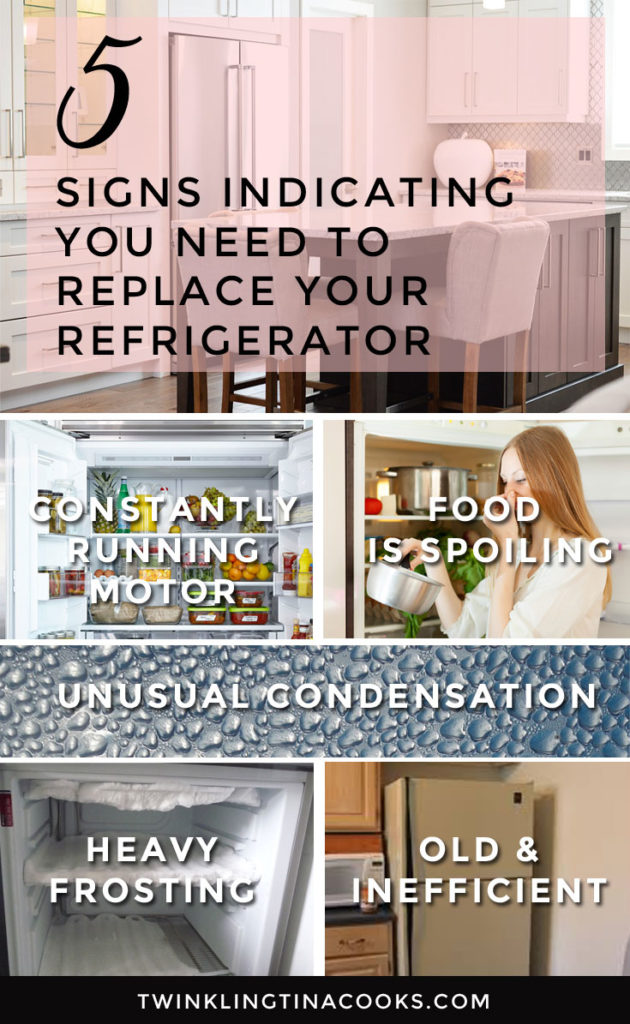 signs that indicate you need to replace your refrigeratorr