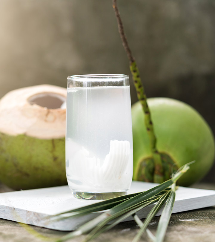 best foods for hangover cure coconut water