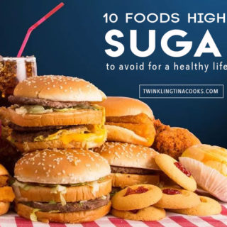10 Foods High in Sugar to avoid for a healthy lifestyle
