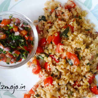 Tomato and Spice Rice Recipe by Shalini from Shalzmojo