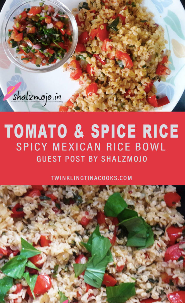 tomato and spice rice recipe