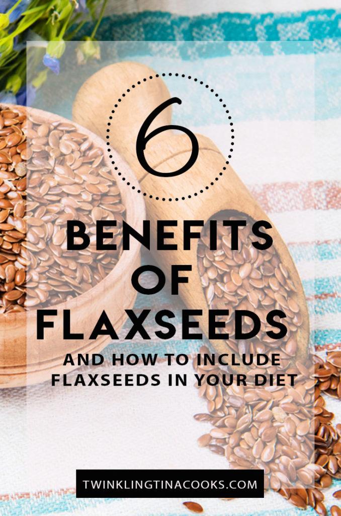 6 benefits of flaxseeds