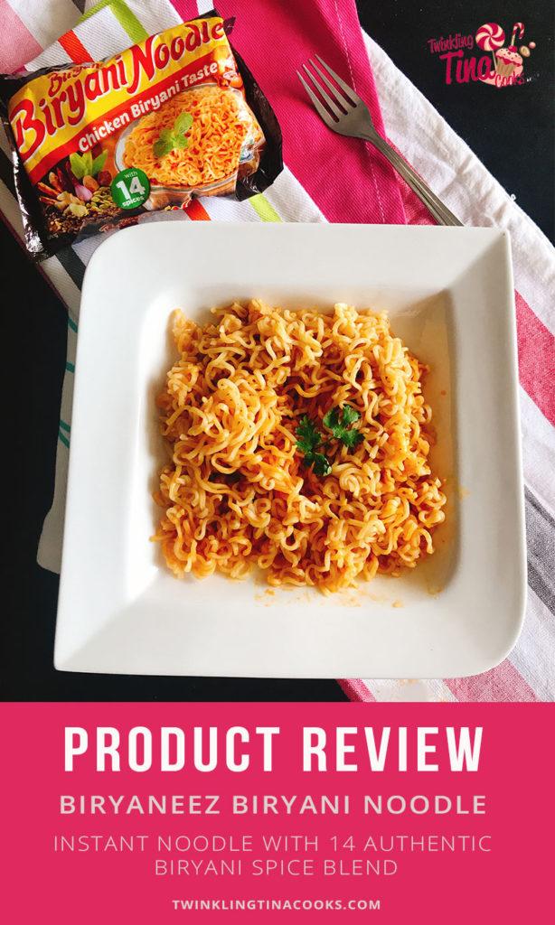 Biryaneez Biryani Noodles Product Review Food Review