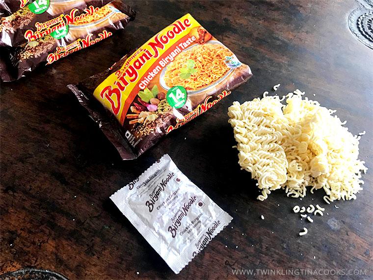 Biryaneez Biryani Noodles - package contents