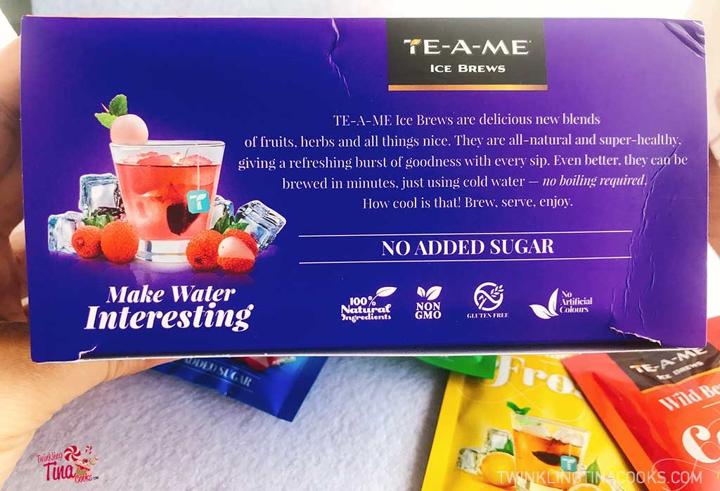 TE-A-ME Ice Brews product review