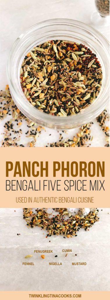 panch phoron bengali five spice